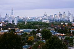 London Skyline by EricP2x, via Flickr