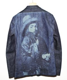 Marithé et François Girbaud - bleach portrait - they worked a lot on the JEAN textile ...
