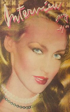 RED MY LIPS Jerry Hall.