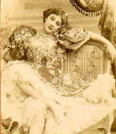 La Belle Otero, courtesan