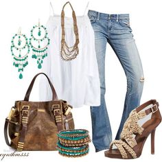 Summer Outfits | Summer Boho | Fashionista | http://summeroutfitcollections.blogspot.com