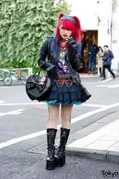 tokyo-fashion red queen style