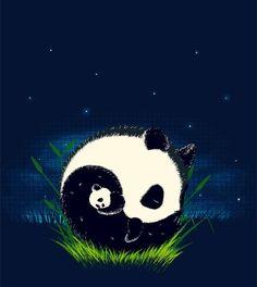 Mother&child ying yang - Panda Bears by ophelia Niedlicher Panda, Panda Love, Cute Panda, Image Panda, Sleeping Panda, Ying Y Yang, Art Beat, Dibujos Cute, Cute Animals