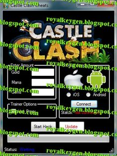Royal Cheats: Castle Clash Cheats and Hack Tool [NEW] [Unlimited Gold, Mana, Gems, and more]good
