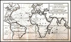 Map Voyages of Captain Robert Lade 1743 Poster by BloominLuvly
