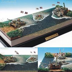 Cross the River II PART2 Dad HS.Kim woochan From: mmzone #scalemodel #diorama #hoby #modelismo #miniatura #miniature #maqueta #maquette #modelism #plastickits #usinadoskits #udk #plastimodelo #plasticmodel #modelisme
