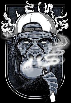 The USA shop for Vape Kits, E-Liquids and Vaping accessories Vape Logo Design, Vape Store Design, Vape Wallpaper, Hookah Lounge Decor, Vape Art, Arte Hip Hop, Monkey Art, Desenho Tattoo, Graphic Artwork