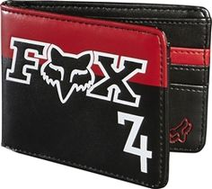 2013 Fox Racing Anthem Casual Motocross MX Dirt Accessories Wallets Christmas Gifts For Boyfriend, Boyfriend Gifts, Fox Racing Clothing, Fox Brand, Mk Outlet, Flex Fit Hats, Fox Logo, Mk Handbags, Riding Gear