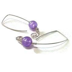 CLEARANCE SALE Open Hoop Earrings Sterling Silver by MoodTherapy