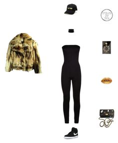 """""""Sho"""" by xseamacx ❤ liked on Polyvore featuring Antonio Berardi, Chanel, Wolford, KLP, NIKE and rockthevote"""