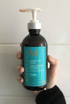 Moroccanoil Intense Curl Cream is a miracle product for unruly curls and helps them stay moisturized for literally days on end.   12 Amazing Beauty Products You'll Wish You Knew About Sooner