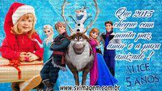 SV Imagem Personalizados - Silmara Vintem: Imã de Geladeira para lembrancinha Natal, Ano Novo da frozen