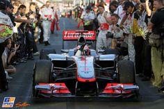 Jenson Button, McLaren, 2012 Australian Formula 1 Grand Prix, Formula 1