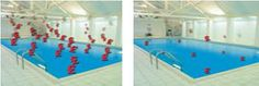 Savings on pools with and without Heatsavr  Ahorro en piscinas sin y con Heatsavr