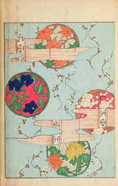 Japanese Designs (1902)  Selected pages from 1901 and 1902 issues of Shin-Bijutsukai, a Japanese design magazine. You can see the original magazines in their wonderful entiretyherein our Books collection.