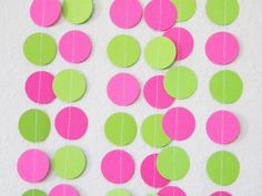 Hot Pink and Lime Green Watermelon Themed first by TheKraftRoom, $10.50