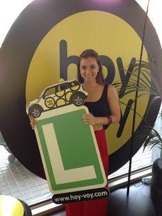 LAURA HERNANDO!!! #hoyvoy #autoescuela #barcelona