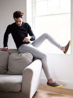 mahabis slipper // kick back and relax in mahabis. impossibly comfortable slippers with 100% wool lining.