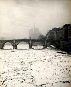 La Seine gelée en 1891