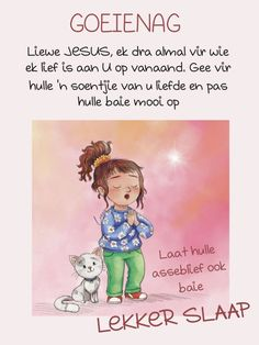 Afrikaanse Quotes, Goeie Nag, Special Quotes, Cartoon Pics, Good Night, Winnie The Pooh, Disney Characters, Fictional Characters, Nighty Night