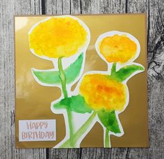 I have a project share for you today! As I mentioned in my chit chat video at the beginning of May, I decided not to do Cards & . Happy Birthday, Projects, Cards, Happy Brithday, Log Projects, Blue Prints, Urari La Multi Ani, Happy Birthday Funny, Maps