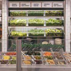 Start with a solid base - sweetgreen's lettuce options!