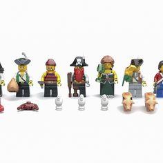 LEGO IDEAS - - The Pirate Bay Pirate Lego, Lego Ship, Tiki Lounge, Red Beard, Treasure Maps, Legos, Pirates, Shark, Sailor