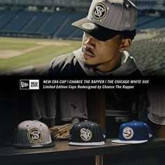 7dcfd0ed5d23 I partnered with New Era to redesign the White Sox cap. ChanceRaps.com  Chance