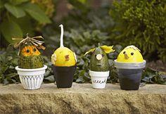 #Bricolage: petites #citrouilles pour petites mains #enfants #diy #halloween