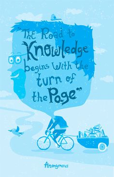 The road to knowledge...
