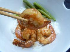 super easy recipe for sesame seed shrimp
