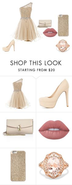 """Untitled #66"" by jandrade218 ❤ liked on Polyvore featuring Charlotte Russe, Dolce&Gabbana, Lime Crime, Michael Kors and Effy Jewelry"