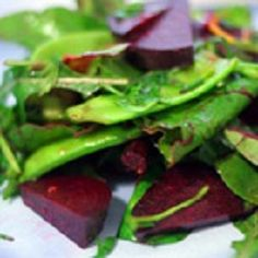 Winter salad with beet, citrus and snow peas – Cafe Liz Winter Salad Recipes, Snow Peas, Beet Salad, Middle Eastern Recipes, Beetroot, Salad Dressing, Beets, Natural Health, Food Inspiration