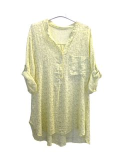 Cotton oversized shirts with ditsy floral print €29.95 available in grey, pink, beige, white, blue and yellow - This item is only available to buy at our store in Amsterdam. www.woontante.com