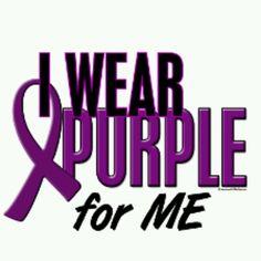 I Wear Purple for ME!!