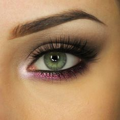 Makeup Geek Eyeshadows in Barcelona Beach, Corrupt, and Unexpected. Look by: AlicjaJ Make Up