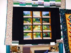 The Traveling Quilter    The 'attic window' is quite simply - amazing. I will have to try this.
