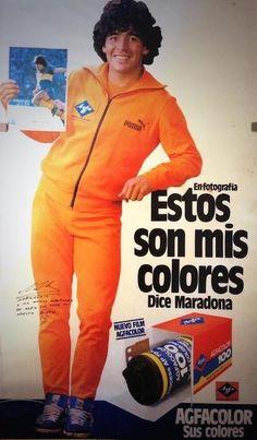 Maradona orange jumpsuit