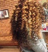Image result for extension wand curl blonde extension