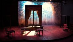 "Scenic Design for Sideshow Theatre Company's "" Theories of the Sun"" by Eric Luchen"