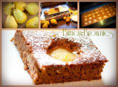 Torten-Kreativ: ***Rezept*** Birnen-Brownies
