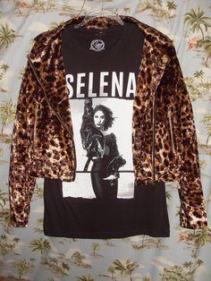 ca1f55a86 Leopard print motorcycle jacket Women's Small or Medium @ Selena Boutique.  Selena BoutiqueGraphic SweatshirtT ShirtJackets ...