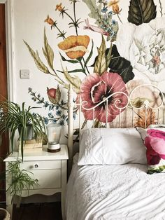 Trendy Bedroom Interior Wallpaper Home My New Room, My Room, Spare Room, Trendy Bedroom, Bohemian Bedrooms, Bohemian Interior, Home Bedroom, Bedroom Ideas, Bedroom Rustic