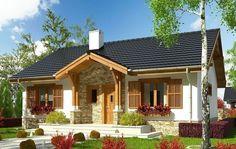 Casa ieftina cu 3 dormitoare si finisaje atragatoare - proiect si imagini