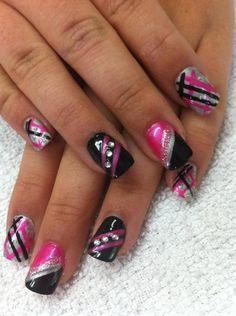Girly by nailtechtish - Nail Art Gallery nailartgallery.nailsmag.com by Nails Magazine www.nailsmag.com #nailart