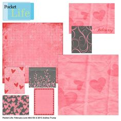 Pocket Life: February Love Mini Kit