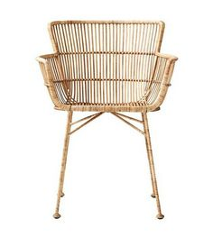 Natural And Design Rattan Dining Chair - House Doctor