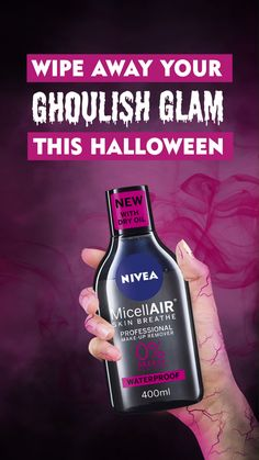 Are you ready to take your ghoulish glam to the next level for the freakiest weekend of the year? Treat your skin this #Halloween with our new MicellAIR Professional range. The lightweight formula is infused with black tea extract and dry oil to gently remove even the most stubborn make-up. No wonder it's loved by make-up artists!
