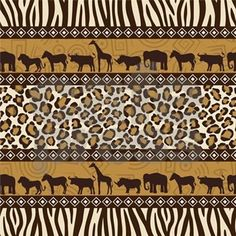 Find African Style Seamless Pattern Wild Animals stock images in HD and millions of other royalty-free stock photos, illustrations and vectors in the Shutterstock collection. African Theme, African Safari, African Style, African Textiles, African Fabric, African Patterns, African Prints, Ethnic Patterns, Art Patterns