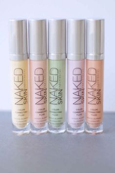 New Urban Decay Naked Skin Color Correcting Fluid.